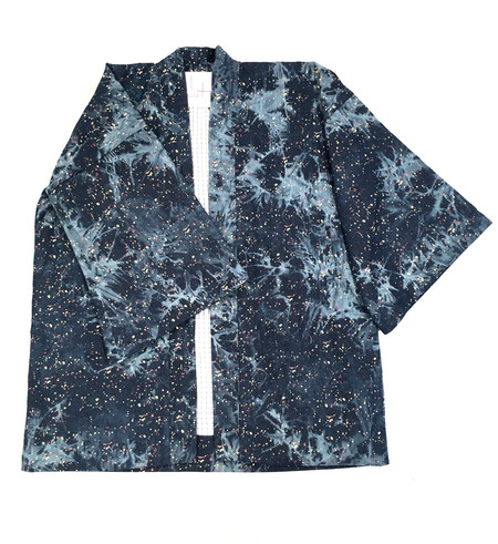 Hygge Kimono Jacket in Splatter Print