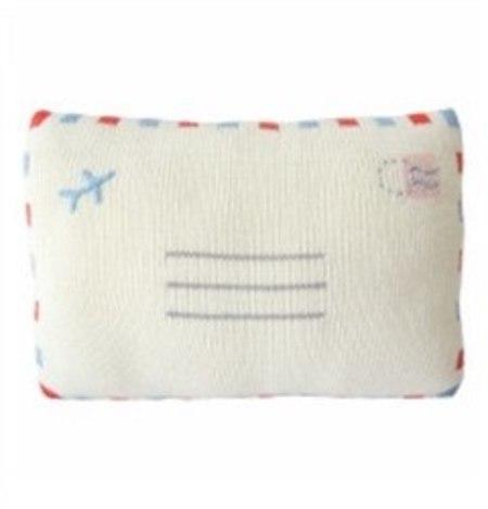 blabla AirMail Pillow - COUCOU Boston