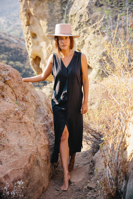 Ozma Sunrise Dress in Black