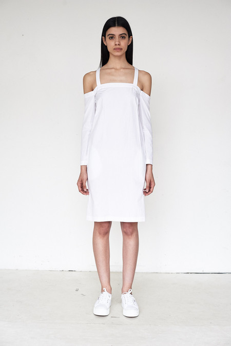 Assembly New York Poplin Drop Shoulder Dress