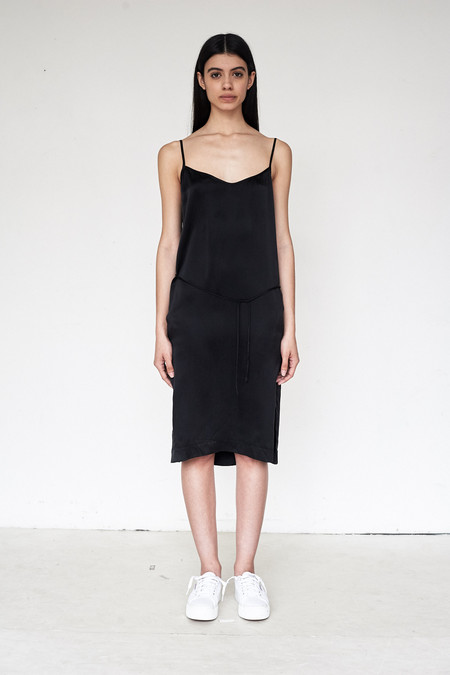 Assembly New York Silk Triangle Cami Dress