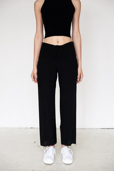 Assembly New York Crepe Simple Pant