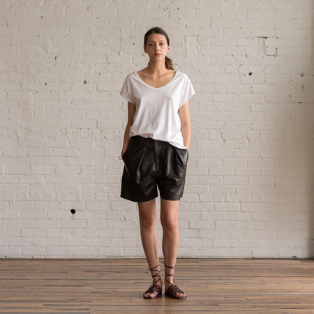 Gary Graham Pleated Shorts