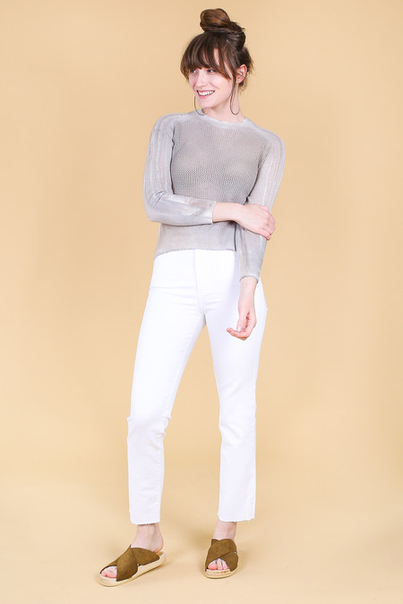 AG Jeans Isabelle in 01 Year White