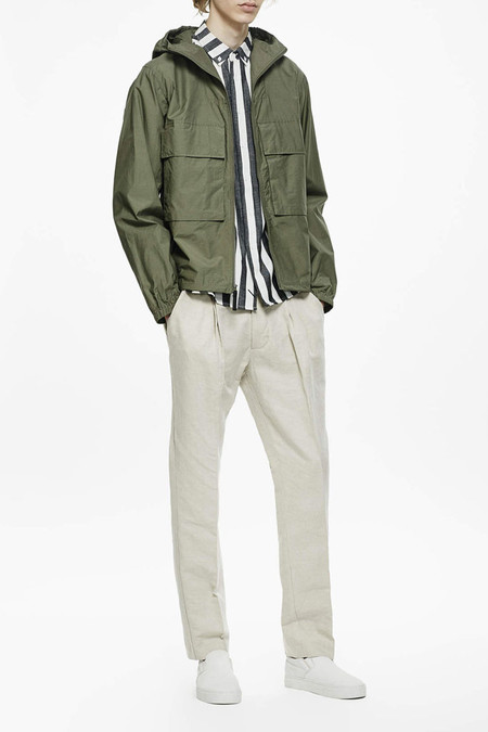 Saturdays Surf NYC Travis Windbreaker | Sage