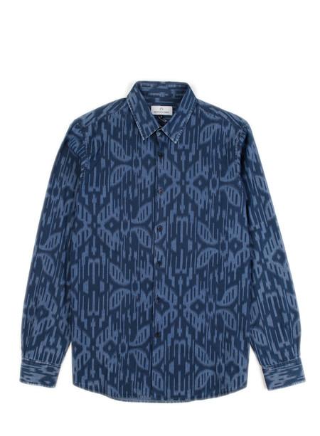 Men's Hentsch Man Friday Shirt Moire Chambray