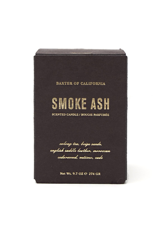 Baxter of California Smoke Ash Candle