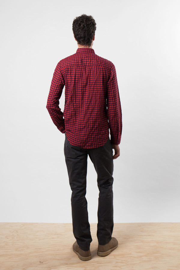 Bridge & Burn Davie Red Gingham