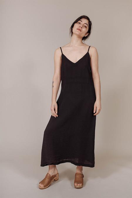 Lacausa Alma Slip Dress in Tar