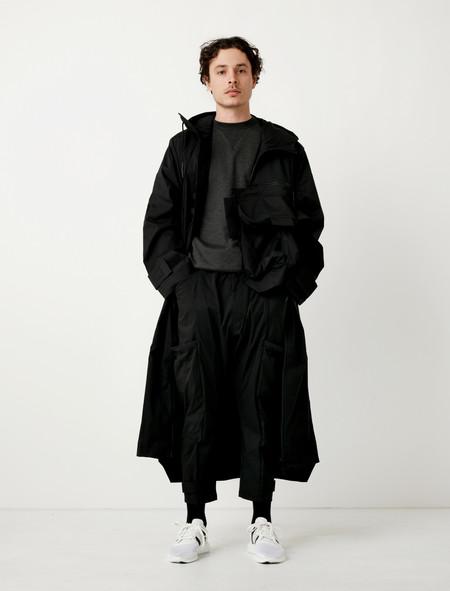 Y-3 Minimalist NLN Coat Black