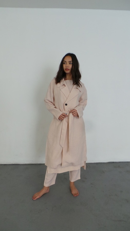 ILANA KOHN LISA TRENCH - BLUSH