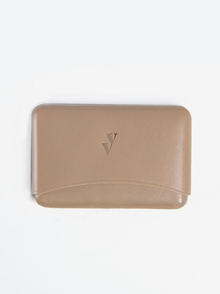 VereVerto Brev Card Holder Taupe