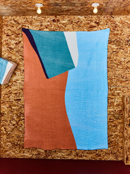 Cold Picnic Quilt: Davids in the Desert