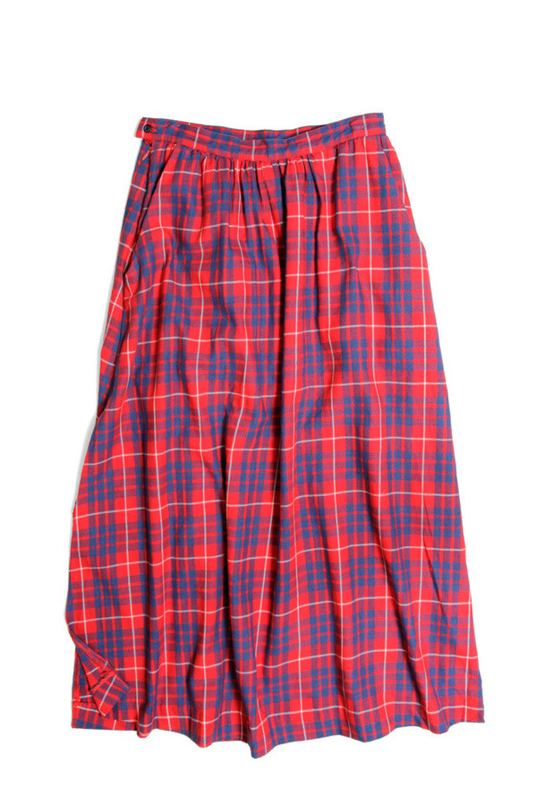 Bridge & Burn Lily Red Indigo Plaid