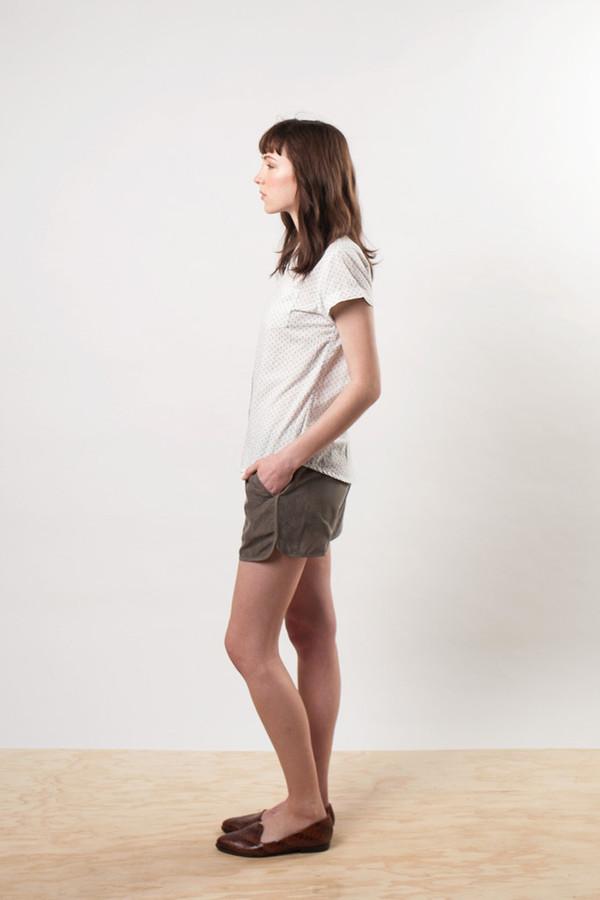 Bridge & Burn Luca Olive Shorts