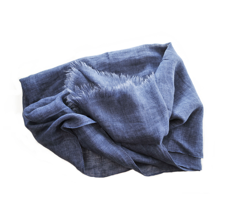 Destin Medium Jeans Linen Scarf