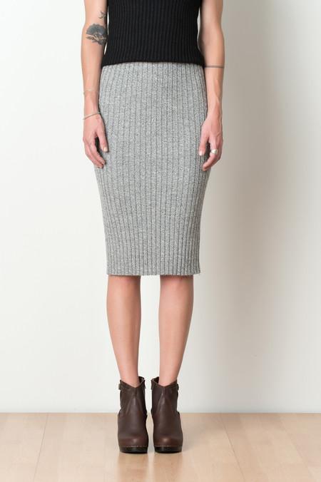 ELEVEN SIX Alaina Sweater Skirt In Slate Moulin