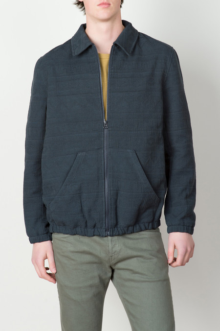 A Kind of Guise Alcatraz Jacket In Navy