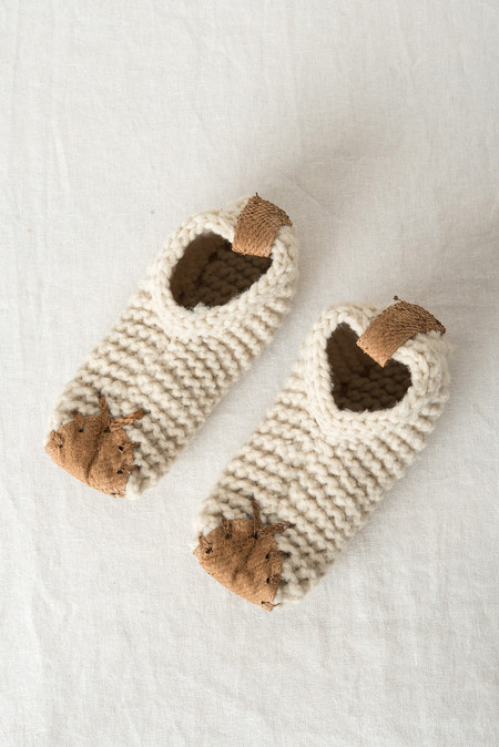 Chilote House Shoes In Natural