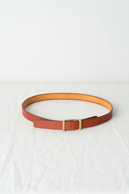 KikaNY Conway Buckle Belt 1'' Wide In Tan
