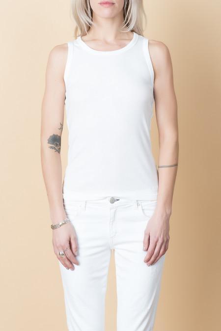Lacausa Laurel Tank In White