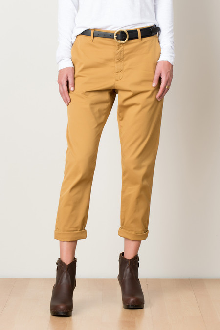 Hope News Trouser In Dark Yellow