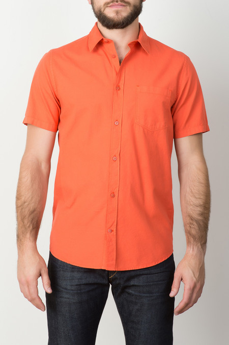 Norse Projects S/S Anton Light Oxford In Orange