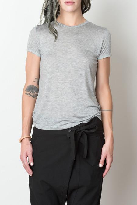 Baserange Tripoli Short Sleeve In Grey Melange