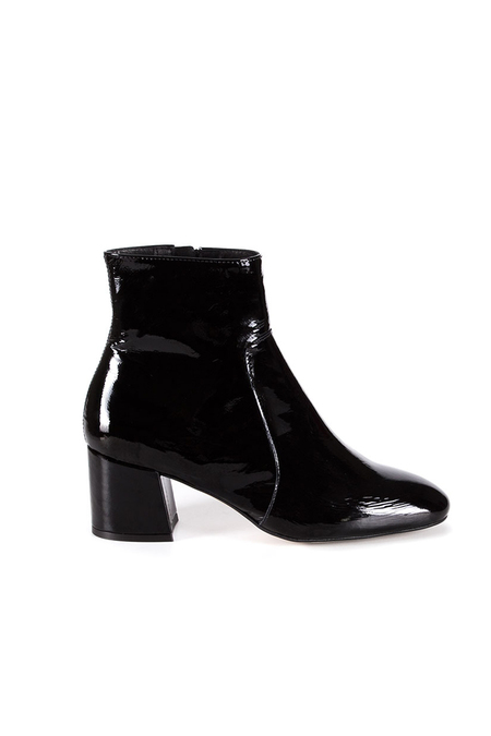 Kinsy Black Patent Boots