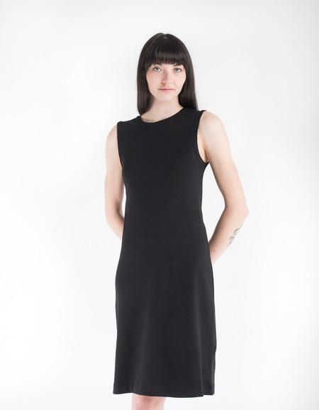 Kowtow Building Block Rib Tank Dress Black