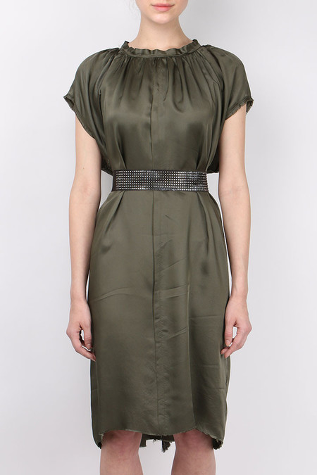 (nude) Rododendro Dress with Belt