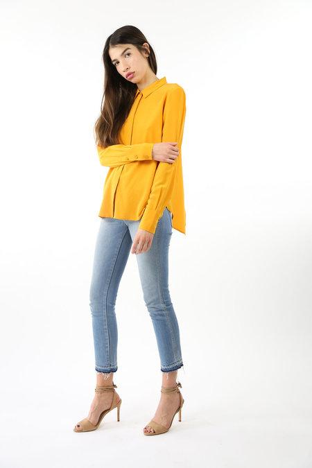 Just Female Park Cross Shirt - Sunflower