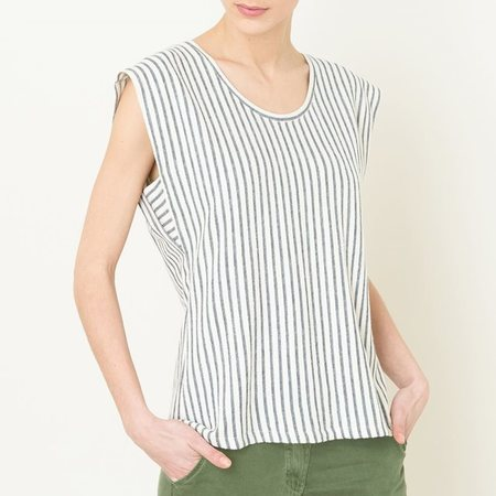 Harris Wilson Calicot Striped Tee