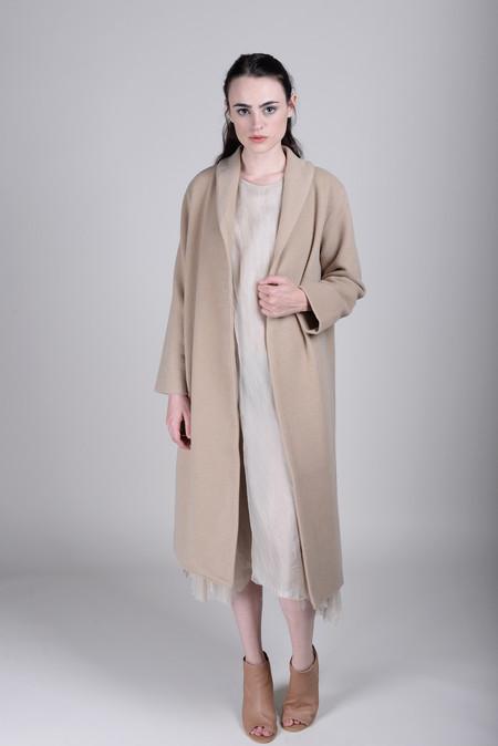 Evam Eva Angora Wool Coat