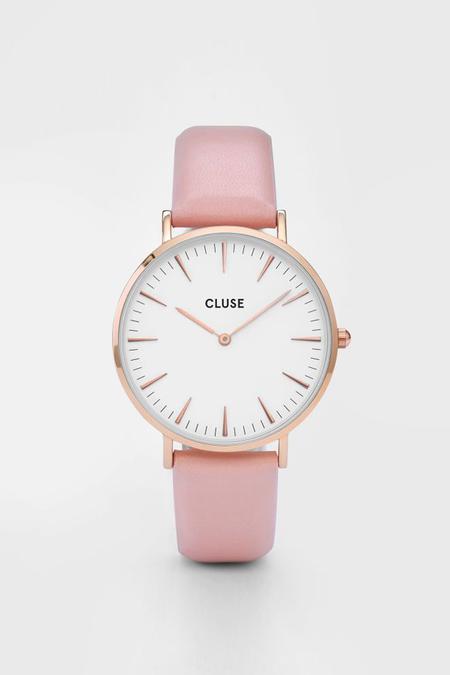 CLUSE WATCH La Boheme Rose Gold White/Pink