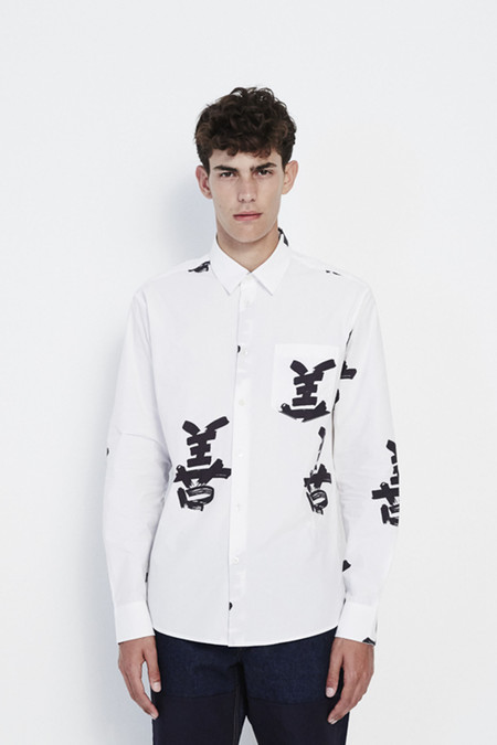 Soulland Apfel Shirt in White