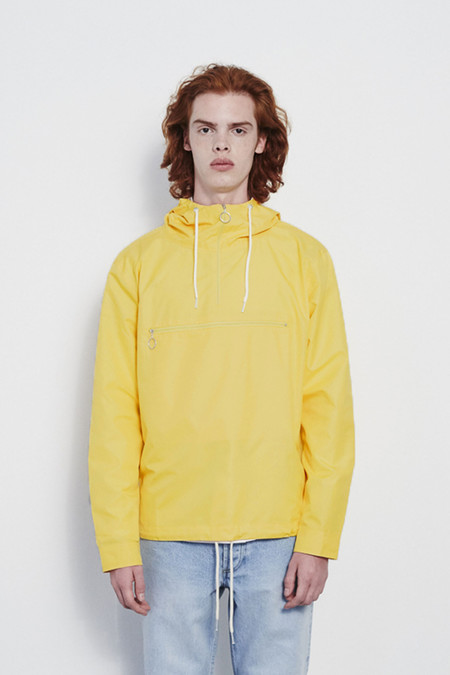 Soulland Newill Light Hooded Jacket in Yellow