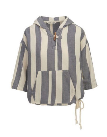Woolrich Standing Wave Poncho