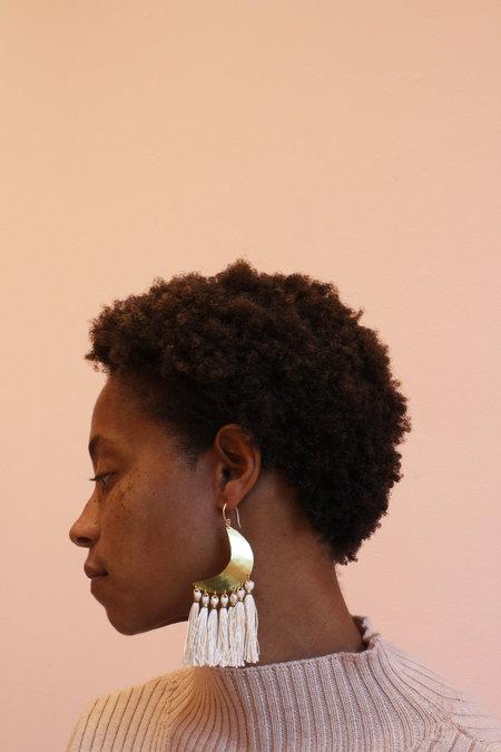 Blank Verse Moon Child Earrings