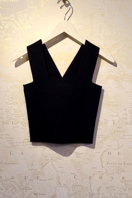 A.L.C. 'Lia' Stretch Heavy Knit Short Top
