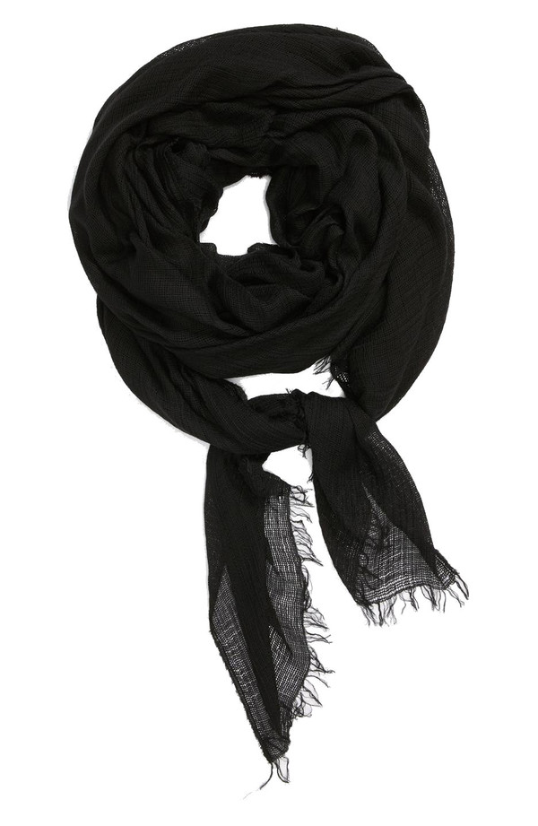 Rag & Bone Buckley Scarf in Black