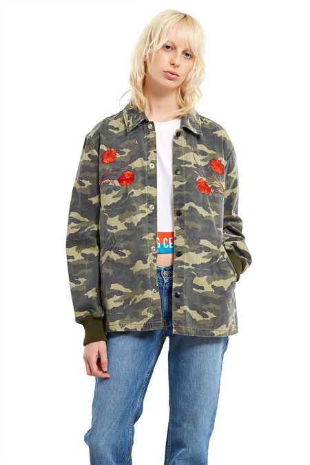 Opening Ceremony Tigers Coach Jacket | Army Green