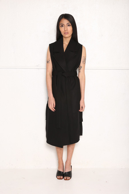 Unisex Intentionally Blank HASTEN Sleveless Trench