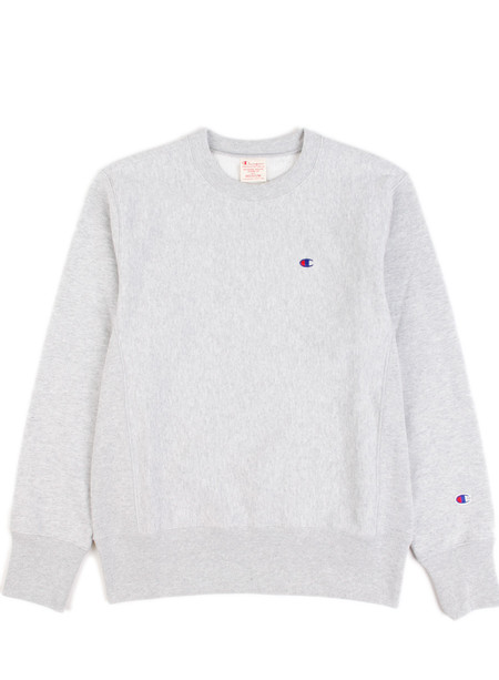 Champion Reverse Weave Crewneck Sweatshirt Grey