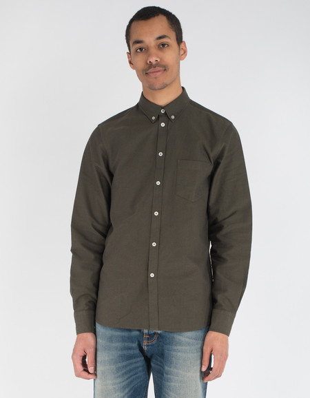 Filippa K Paul Oxford Shirt Air Force Black