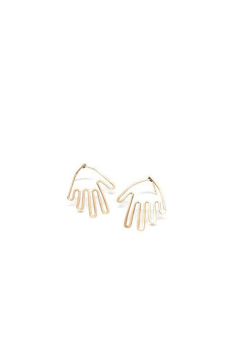 Mary MacGill 14K Gold Filled Wire Hand Studs