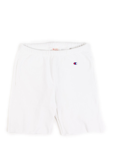 Champion Reverse Weave Sweat Shorts White