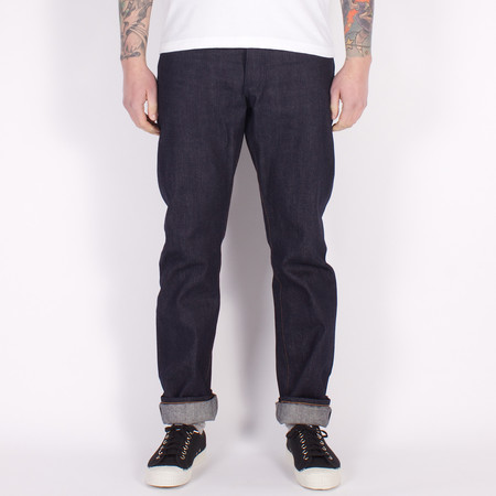 Left Field NYC Greaser - 16.5oz Indigo Xinjiang Long Staple Selvedge Denim