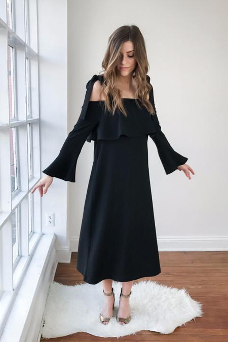 Ganni Clark Maxi Dress