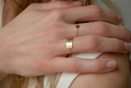 Kristen Elspeth - Shield Ring